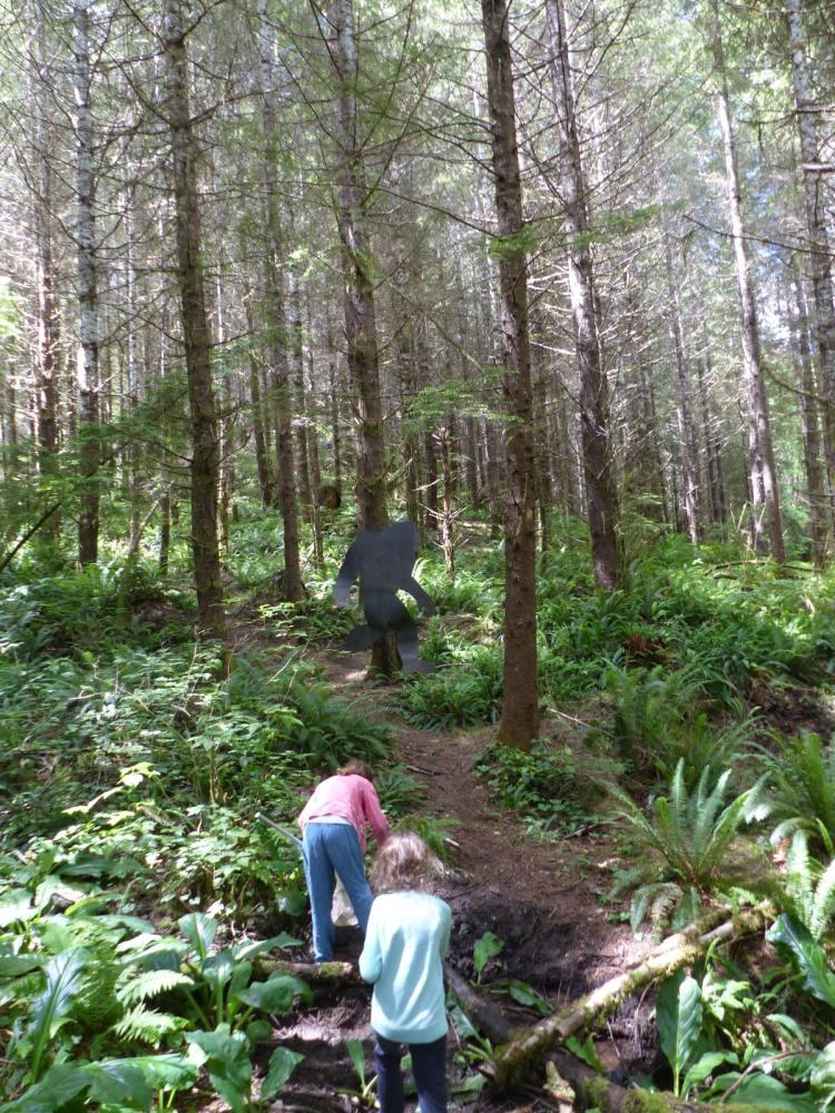 gnat creek forest oregon hiking bigfoot