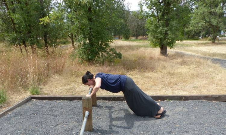 McCormick Park exercise walking trail st. helens oregon