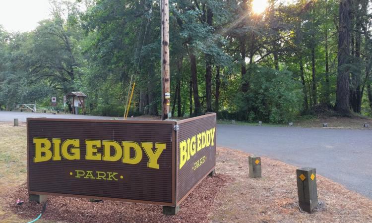 big eddy park vernonia oregon columbia county