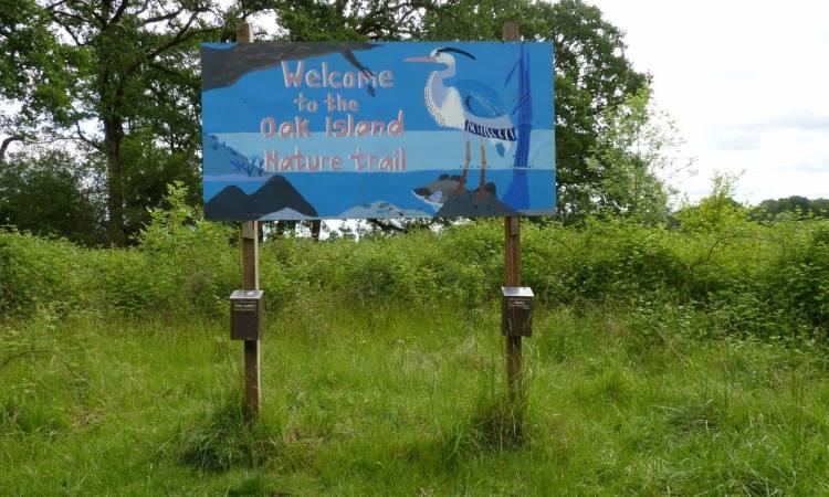 Oak Island nature trail sauvie island columbia county oregon