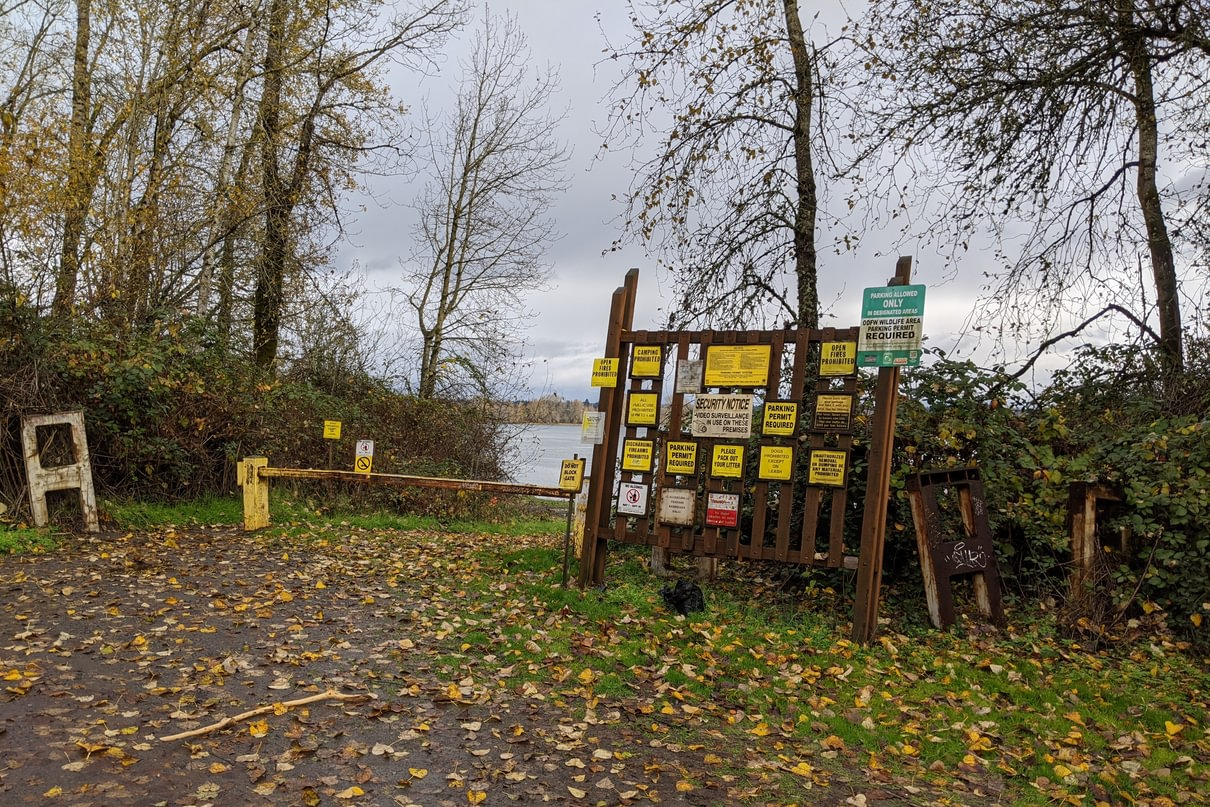 Willow Bar Islands Trailhead Sauvie Island columbia county oregon