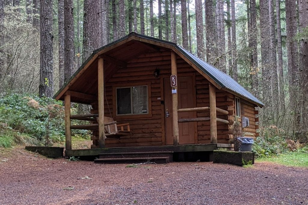 Camp Wilkerson cabin Columbia County Oregon