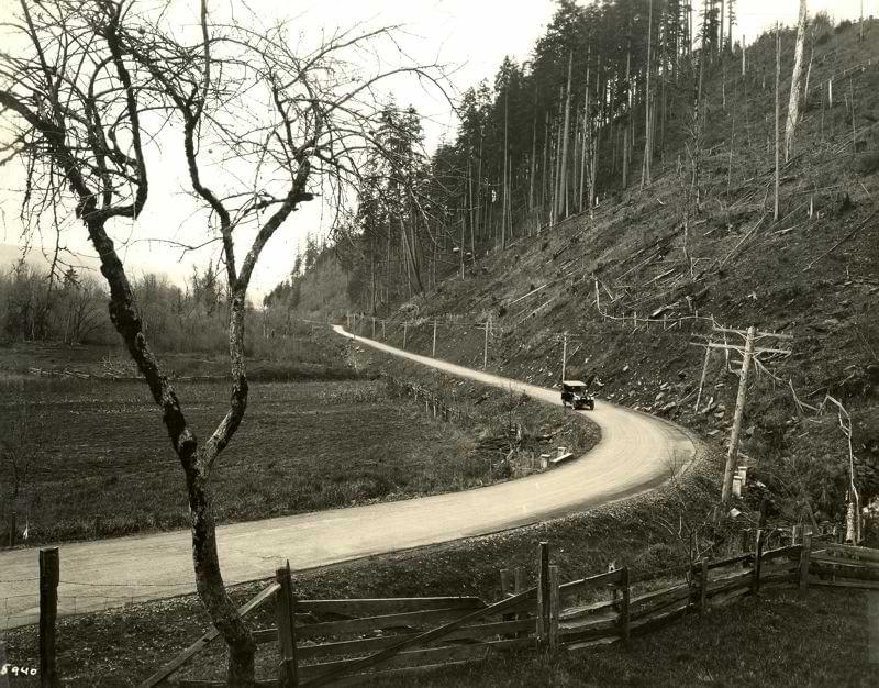 Old Highway 30 columbia river highway oregon
