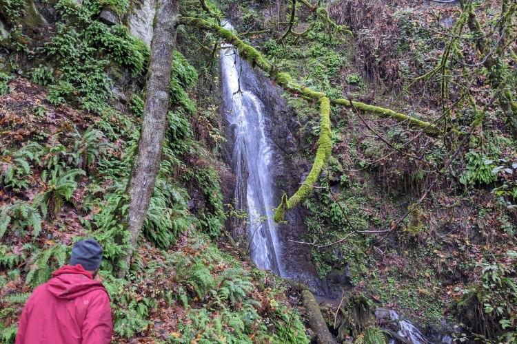 little jack falls prescott oregon old columbia river highway 30