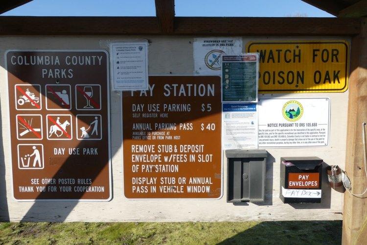 Prescott Beach County Park Columbia River Rainier columbia county