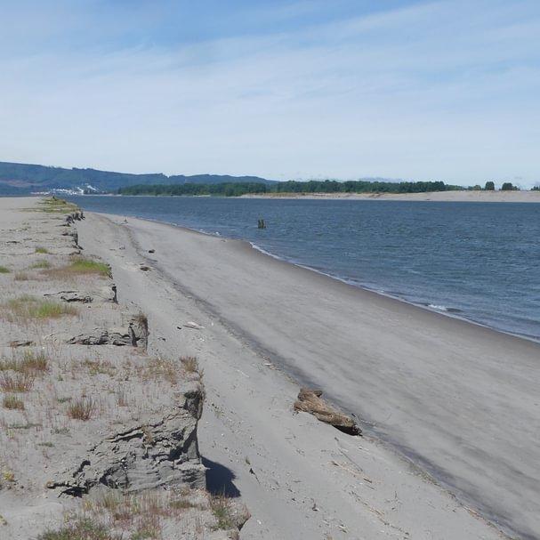 Jones Beach clatskanie fishing columbia river county northwest oregon