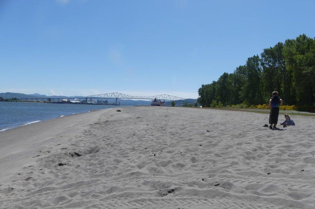 Dibblee point Beach County Park Dibblees Columbia Northwest Oregon