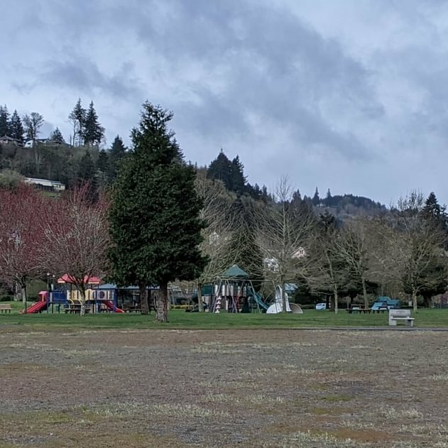 Rainier Riverfront Park Columbia County city Rainier Oregon