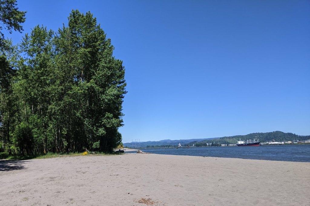 Dibblee Beach Point County Park Dibblees Columbia Northwest Oregon
