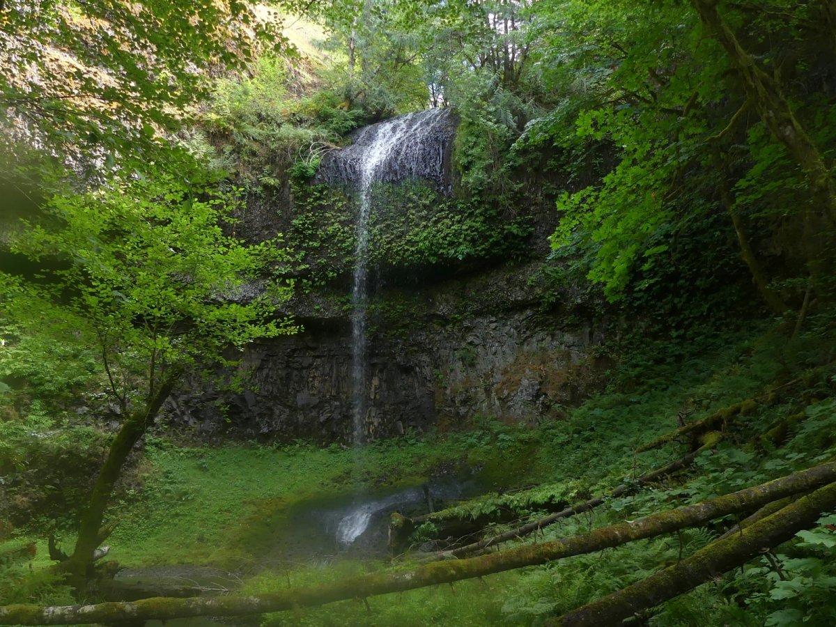 Carcus Creek Falls waterfall columbia county oregon